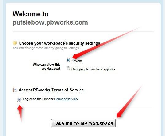 PBWorks Guide